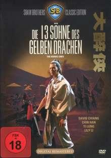 Die 13 Söhne des gelben Drachen, DVD