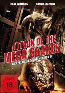 Attack of the Mega Snakes, DVD