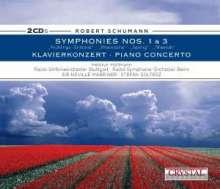 Robert Schumann (1810-1856): Symphonien Nr.1 & 3, 2 CDs