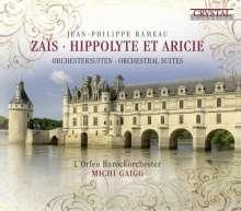 Jean Philippe Rameau (1683-1764): Zais-Suite, CD