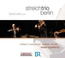 Ernest Chausson (1855-1899): Klavierquartett A-Dur op.30, CD