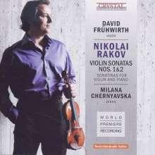 Nikolai Rakov (geb. 1908): Sonaten für Violine & Klavier Nr.1 & 2, CD