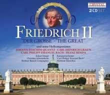 Friedrich II der Große und seine Hofkomponisten, 2 CDs