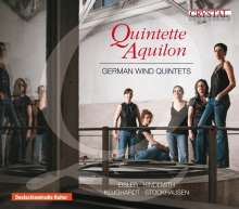 Quintette Aquilon - German Wind Quintets, CD