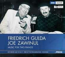 Friedrich Gulda & Joe Zawinul - Music for two Pianos, CD