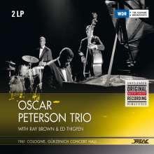 Oscar Peterson (1925-2007): 1961 - Köln, Gürzenich (remastered) (180g), 2 LPs