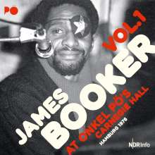 James Booker: At Onkel Pö's Carnegie Hall / Hamburg '76 (180g), 2 LPs