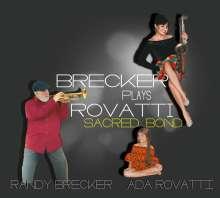 Randy Brecker & Ada Rovatti: Brecker Plays Rovatti - A Sacred Bond (180g), 2 LPs