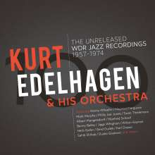 Kurt Edelhagen & His Orchestra: 100 - The Unreleased WDR Jazz Recordings (180g) (Limited Edition) (Clear Vinyl) (exklusiv für jpc!), 3 LPs