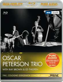 Oscar Peterson (1925-2007): Oscar Peterson Trio: 1961 Cologne, Gürzenich Concert Hall, Blu-ray Audio