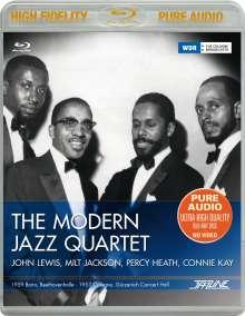 The Modern Jazz Quartet: 1959 Bonn + 1957 Köln, Blu-ray Audio