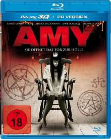 Amy - Sie öffnet das Tor zur Hölle (3D Blu-ray), Blu-ray Disc