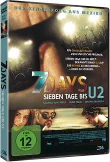 7 Days - Sieben Tage bis U2, DVD