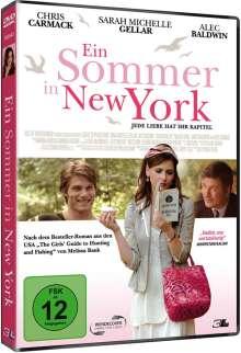 Ein Sommer in New York, DVD