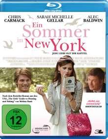 Ein Sommer in New York (Blu-ray), Blu-ray Disc