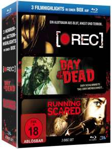 [Rec] / Day of the Dead / Running Scared (Blu-ray), 3 Blu-ray Discs