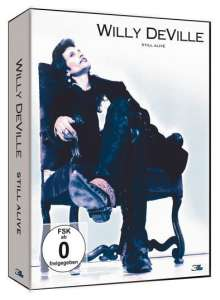Willy DeVille: Still Alive: The Berlin Concerts 2002, 3 DVDs