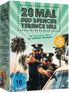 20 Mal Bud Spencer & Terence Hill, 20 DVDs