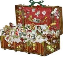 Nostalgischer Weihnachtskoffer Adventskalender, Diverse