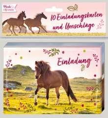 Einladungskarten - Pferdefreunde - Einladung, Diverse