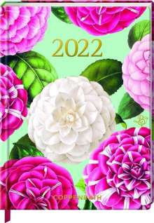 Mein Jahr 2022 - Kamelien (Edition Barbara Behr), Buch
