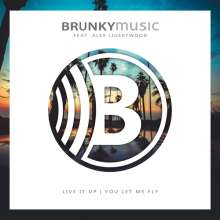 Brunky Music: Live It Up (Feat. Alex Ligertwood), Maxi-CD