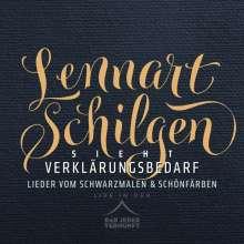 Lennart Schilgen: Verklärungsbedarf - Live in der Bar jeder Vernunft, 2 CDs