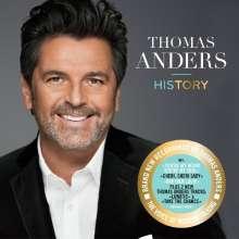 Thomas Anders: History, CD