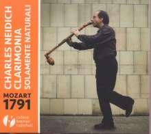 Charles Neidich - Mozart 1791, CD