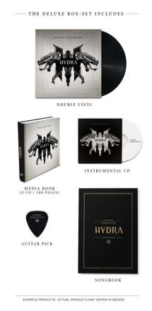Within Temptation: Hydra (180g) (Limited-Deluxe-Edition Box-Set), 2 LPs und 3 CDs