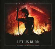 Within Temptation: Let Us Burn (Elements & Hydra Live In Concert 2014), 2 CDs