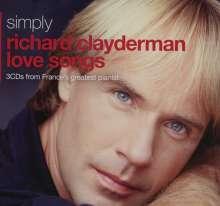Richard Clayderman: Simply Richard Clayderman Love Songs (Metallbox), 3 CDs