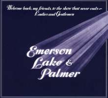 Emerson, Lake & Palmer: Welcome Back My Friends To The Show That Never Ends (Deluxe Edition), 2 CDs