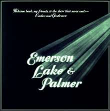 Emerson, Lake & Palmer: Welcome Back My Friends To The Show That Never Ends - Ladies And Gentlemen (remastered) (140g), 3 LPs