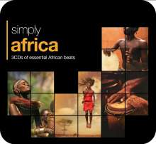 Simply Africa (Metallbox), 3 CDs