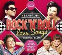 Stars Of Rock 'N' Roll Love Songs, 3 CDs