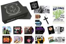Black Sabbath: The Ten Year War (180g) (Limited-Numbered-Deluxe-Box-Set) (Colored Vinyl), 9 LPs