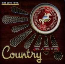 Country Radio (Limitierte-Metallbox-Edition), 3 CDs