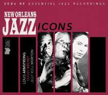 New Orleans Jazz Icons, 2 CDs