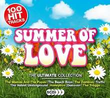 Ultimate Summer Of Love, 5 CDs