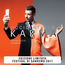 Francesco Gabbani: Occidentali's Karma (Limited-Numbered-Edition), Single 7""