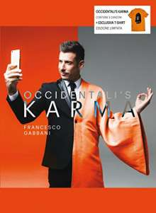 Francesco Gabbani: Occidentali's Karma (Limited-Edition) + Shirt Gr.S, 2 Maxi-CDs