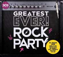 Greatest Ever Rockparty, 3 CDs