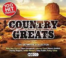 Country Greats: The Ultimate Collection, 5 CDs
