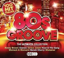 Ultimate 80's Groove, 5 CDs