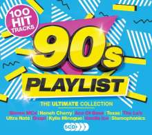 90s Playlist: The Ultimate Collection, 5 CDs