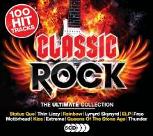 Classic Rock: The Ultimate Collection, 5 CDs