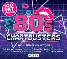 80s Chartbusters, 5 CDs