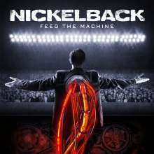 Nickelback: Feed The Machine (Limited-Edition) (Red & Black Marbled Vinyl), LP