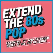 Extend the 80s: Pop, 3 CDs